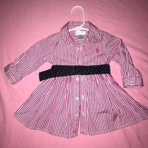 Ralph Lauren dress and bloomers